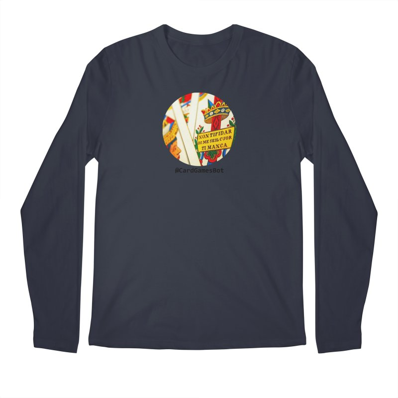 CardGamesBot Men's Regular Longsleeve T-Shirt by OTInetwork