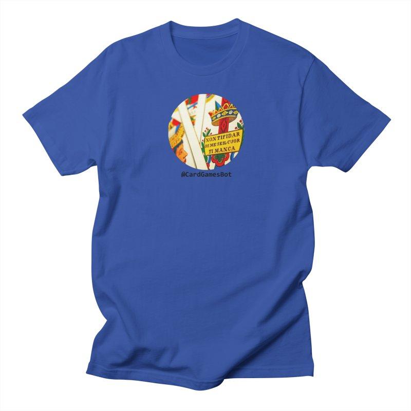 CardGamesBot Women's Regular Unisex T-Shirt by OTInetwork