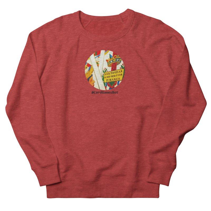 CardGamesBot Women's French Terry Sweatshirt by OTInetwork
