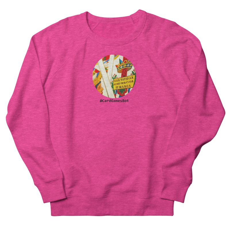 CardGamesBot Women's French Terry Sweatshirt by OTInetwork