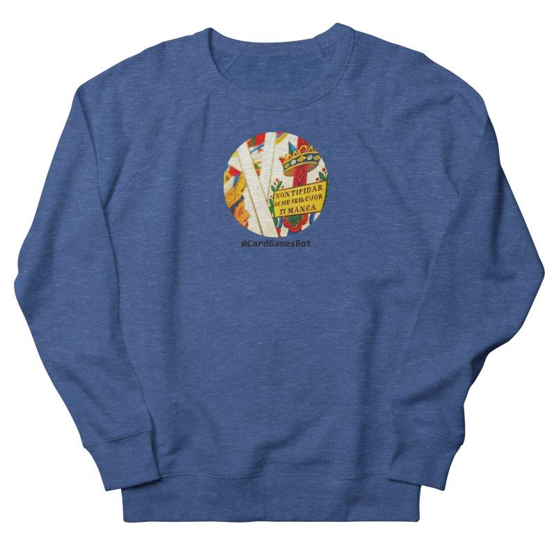 CardGamesBot Men's French Terry Sweatshirt by OTInetwork