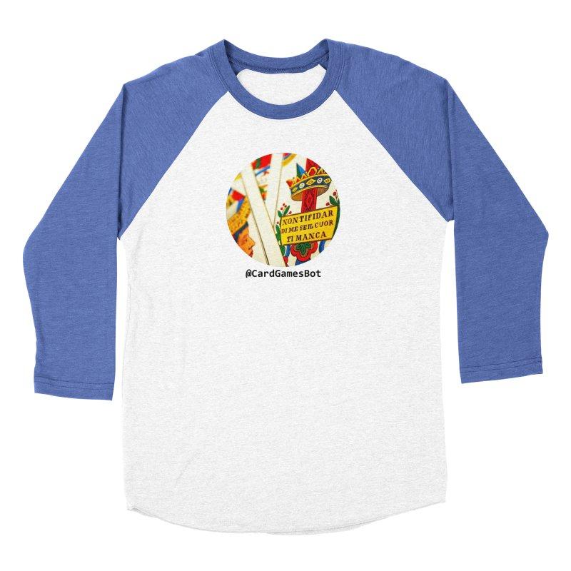 CardGamesBot Women's Baseball Triblend Longsleeve T-Shirt by OTInetwork