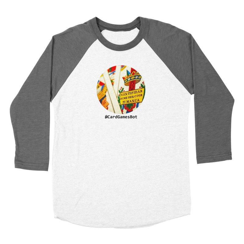 CardGamesBot Men's Baseball Triblend Longsleeve T-Shirt by OTInetwork