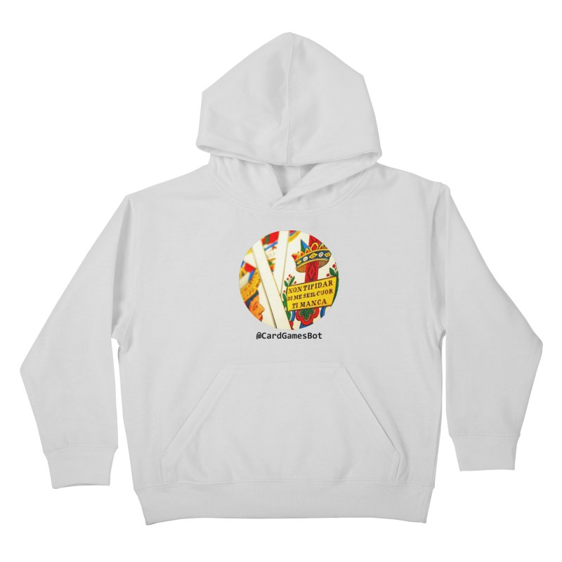 CardGamesBot Kids Pullover Hoody by OTInetwork