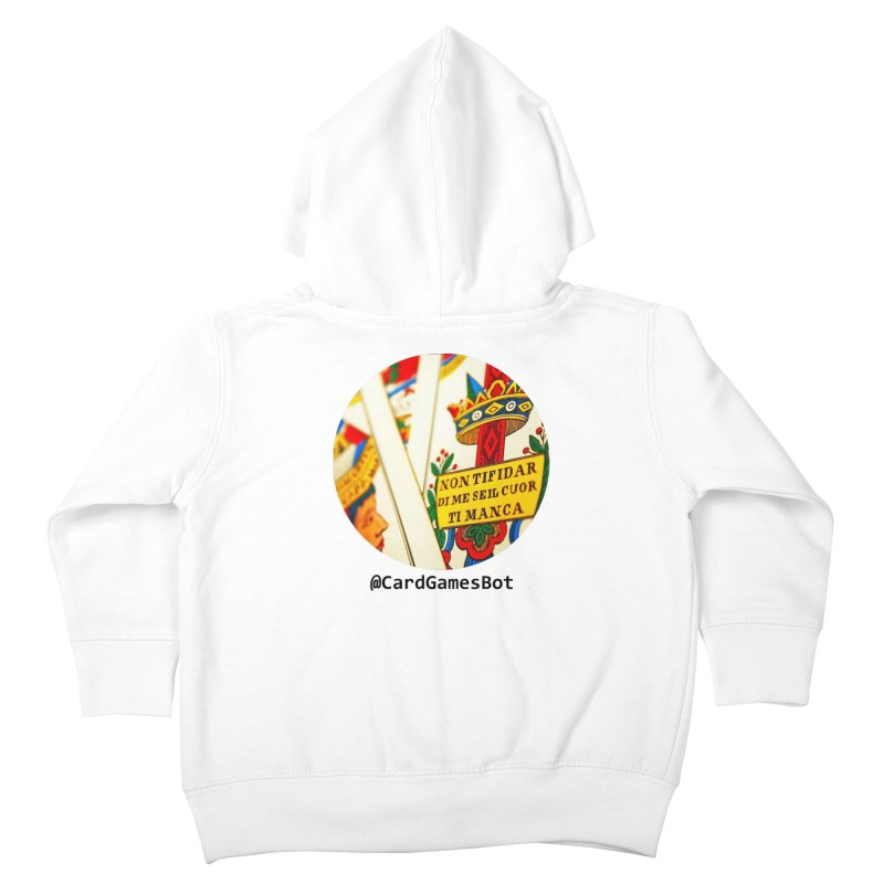 CardGamesBot Kids Toddler Zip-Up Hoody by OTInetwork