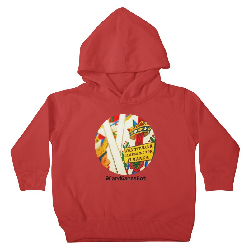 CardGamesBot Kids Toddler Pullover Hoody by OTInetwork