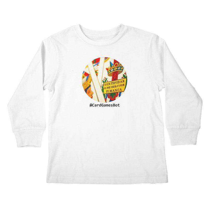 CardGamesBot Kids Longsleeve T-Shirt by OTInetwork