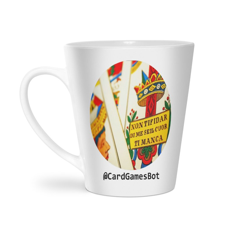 CardGamesBot Accessories Latte Mug by OTInetwork
