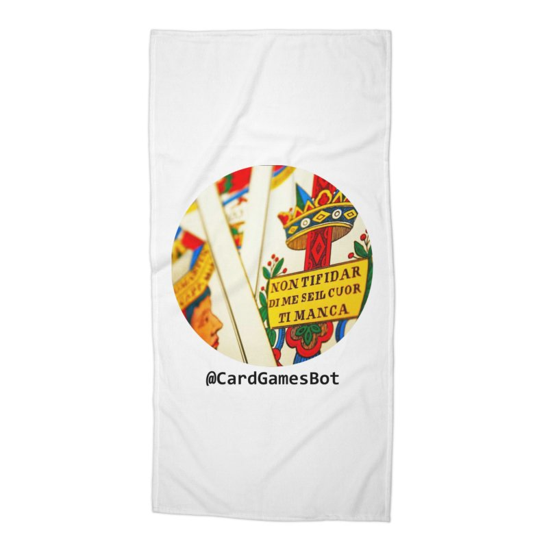 CardGamesBot Accessories Beach Towel by OTInetwork