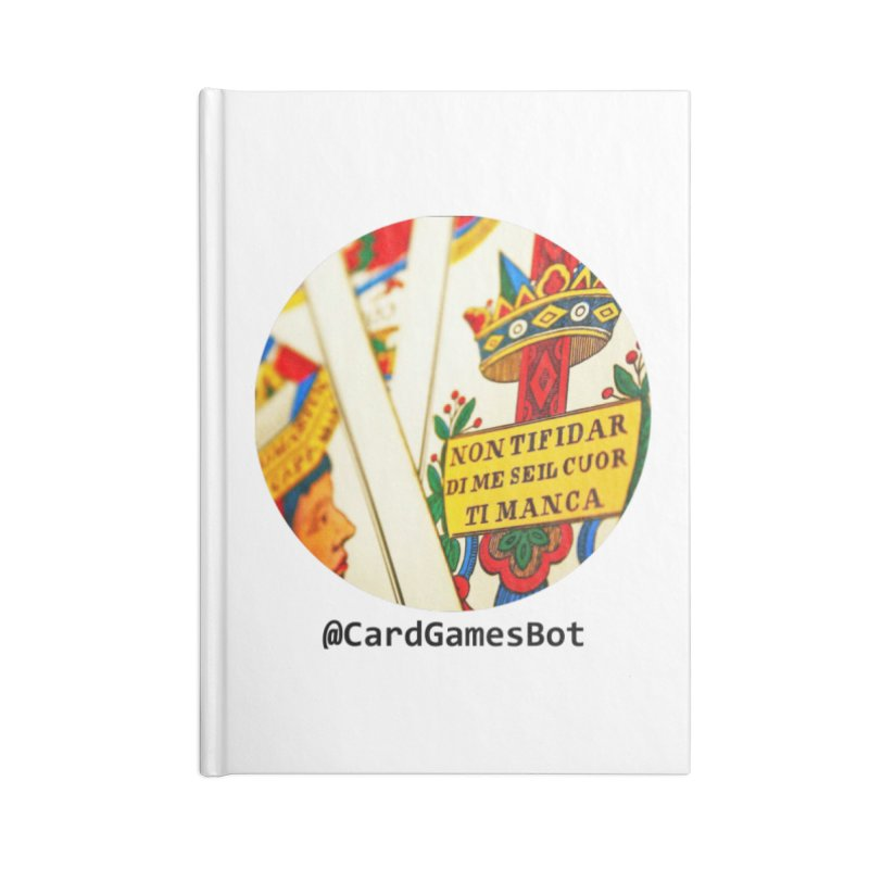 CardGamesBot Accessories Lined Journal Notebook by OTInetwork