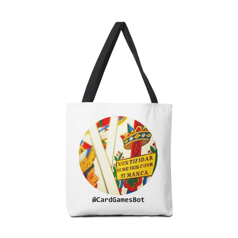 CardGamesBot Accessories Tote Bag Bag by OTInetwork
