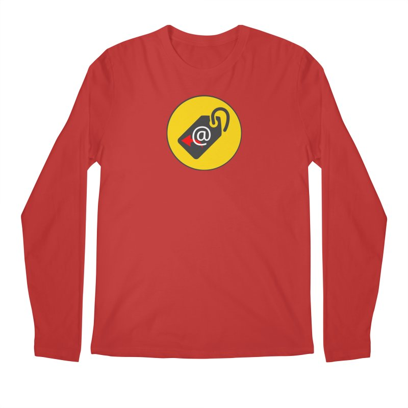 MasterTagAlertBot Men's Regular Longsleeve T-Shirt by OTInetwork