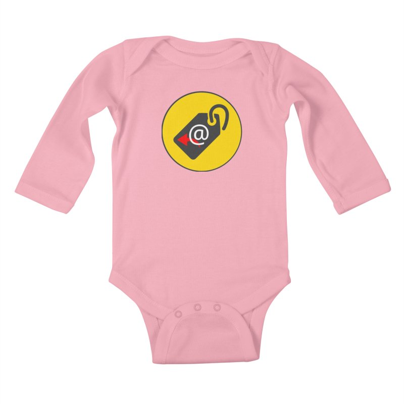 MasterTagAlertBot Kids Baby Longsleeve Bodysuit by OTInetwork
