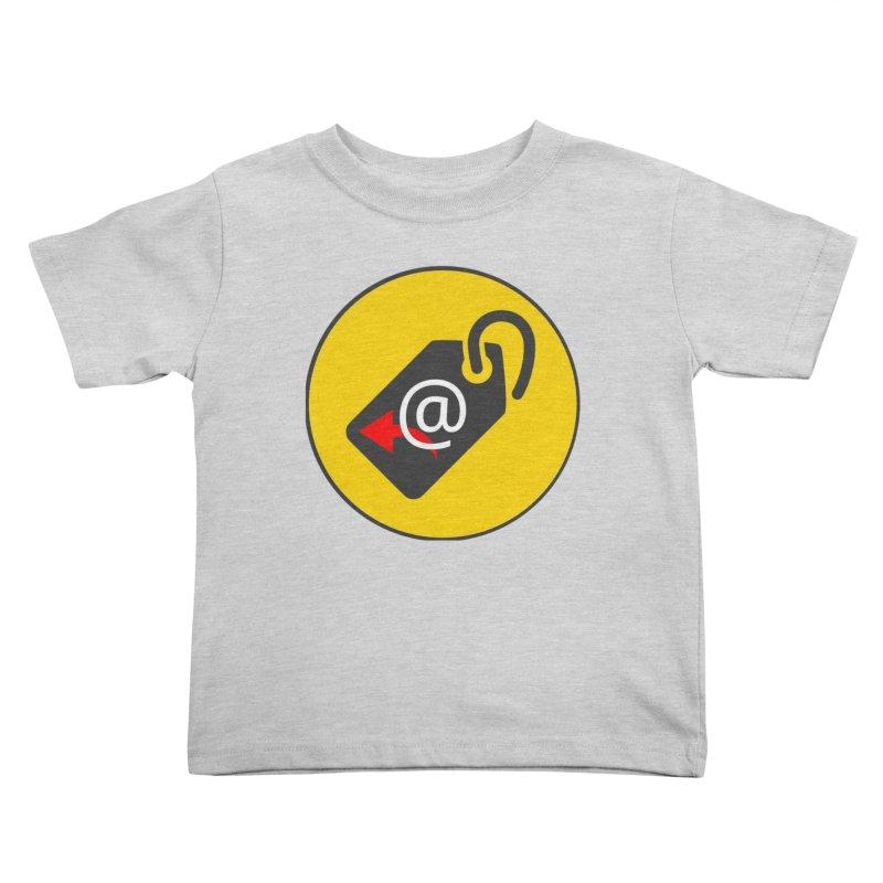 MasterTagAlertBot Kids Toddler T-Shirt by OTInetwork