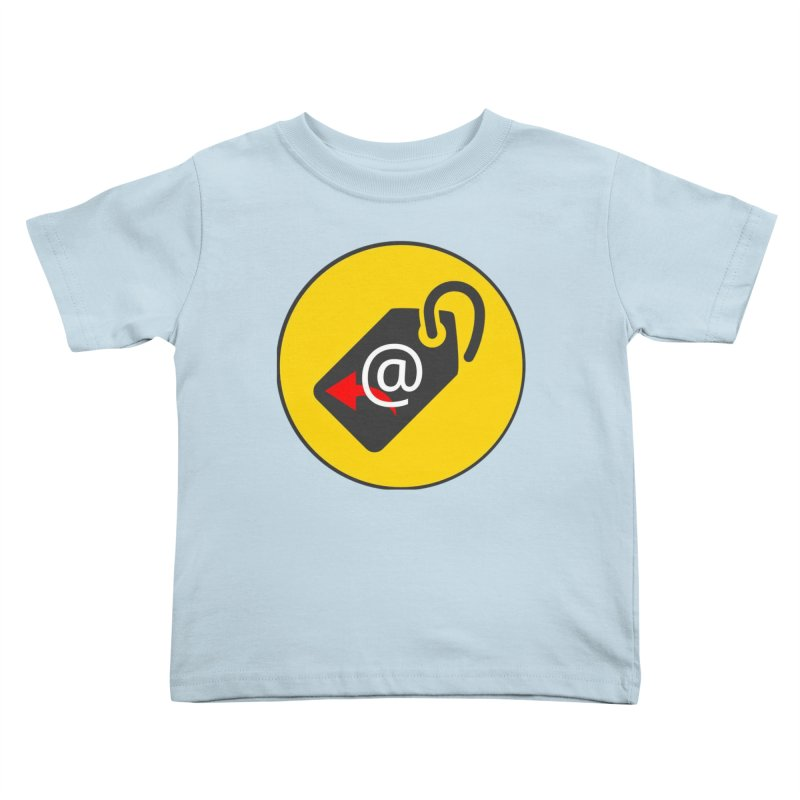MasterTagAlertBot Kids Toddler T-Shirt by OTInetwork