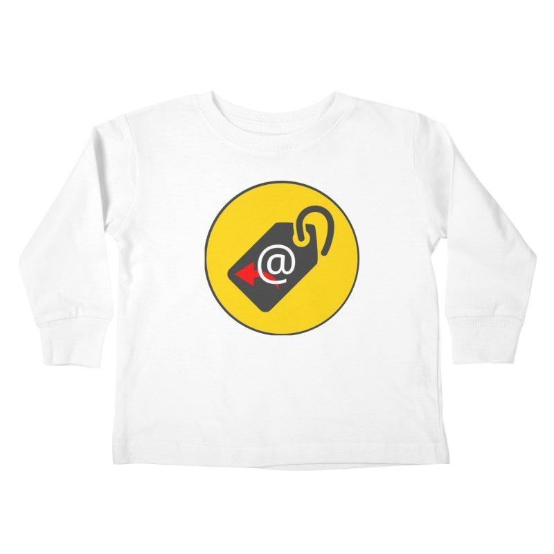 MasterTagAlertBot Kids Toddler Longsleeve T-Shirt by OTInetwork