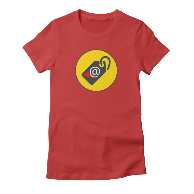 MasterTagAlertBot Women's Fitted T-Shirt by OTInetwork