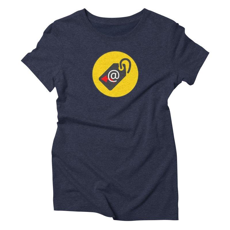 MasterTagAlertBot Women's Triblend T-Shirt by OTInetwork