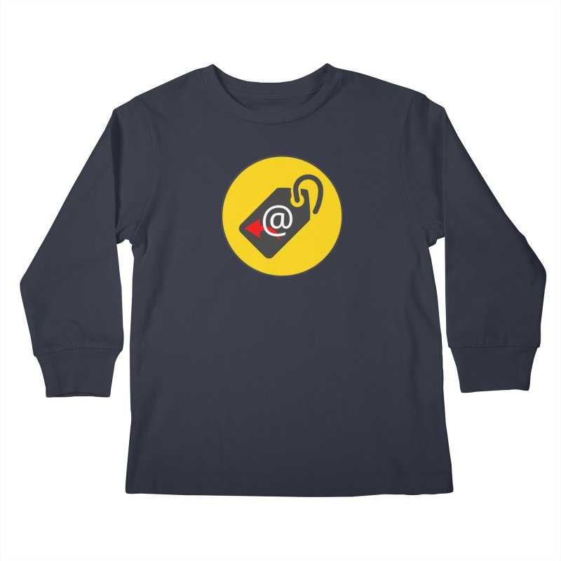 MasterTagAlertBot Kids Longsleeve T-Shirt by OTInetwork