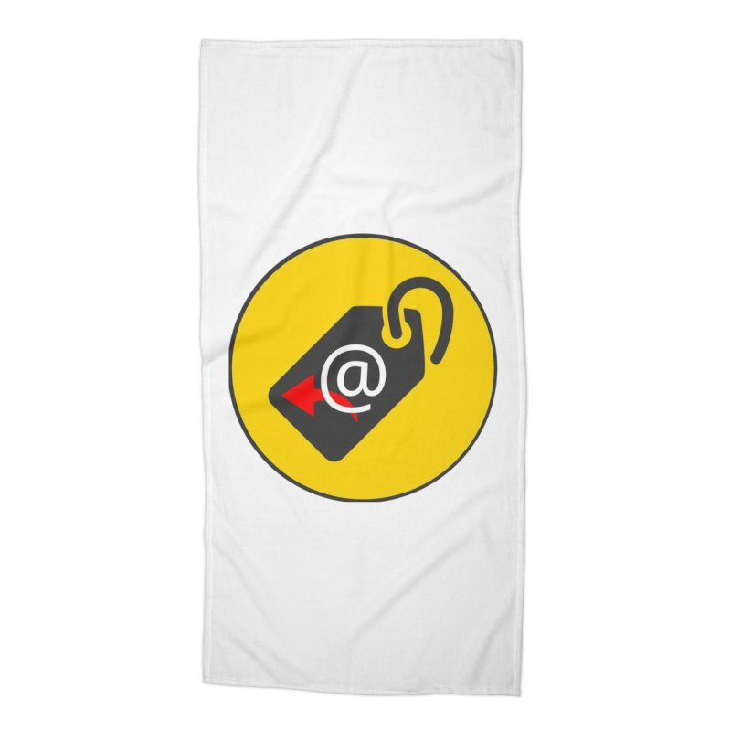 MasterTagAlertBot Accessories Beach Towel by OTInetwork
