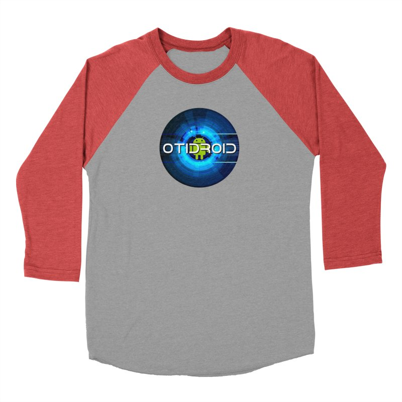 OTIdroid Women's Baseball Triblend Longsleeve T-Shirt by OTInetwork