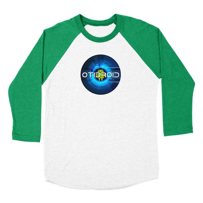 OTIdroid Men's Baseball Triblend Longsleeve T-Shirt by OTInetwork