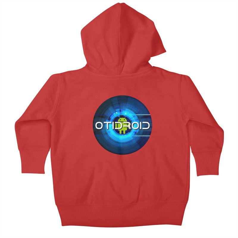 OTIdroid Kids Baby Zip-Up Hoody by OTInetwork