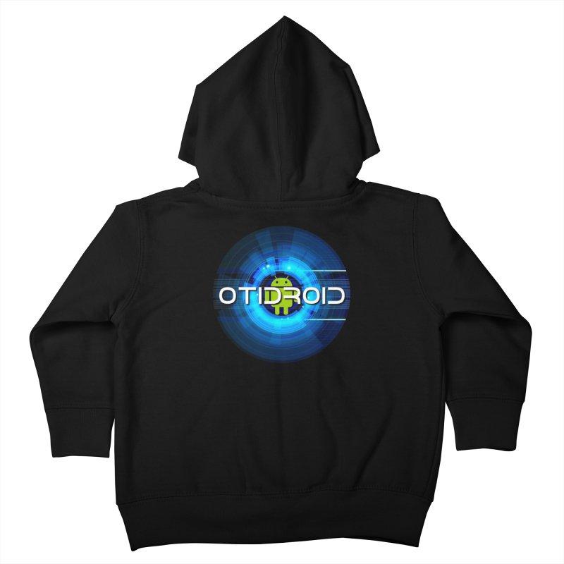 OTIdroid Kids Toddler Zip-Up Hoody by OTInetwork