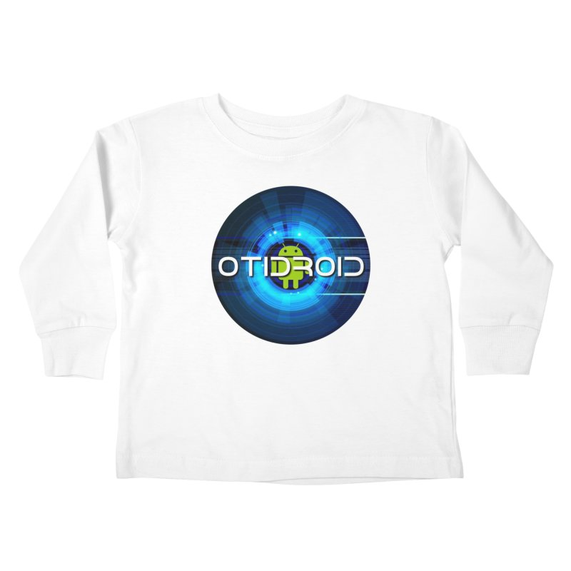 OTIdroid Kids Toddler Longsleeve T-Shirt by OTInetwork