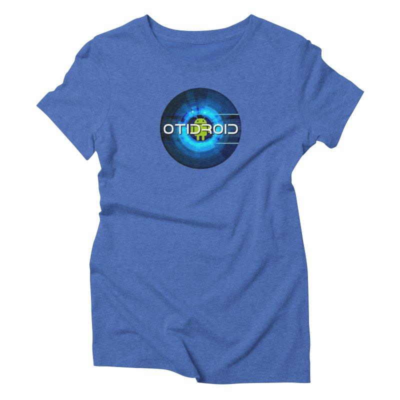 OTIdroid Women's Triblend T-Shirt by OTInetwork