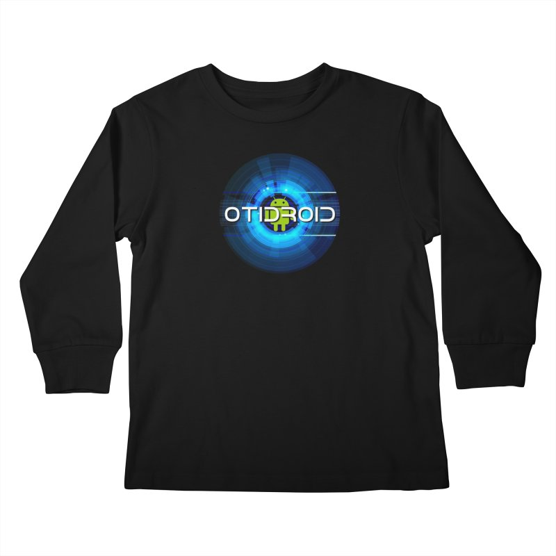 OTIdroid Kids Longsleeve T-Shirt by OTInetwork