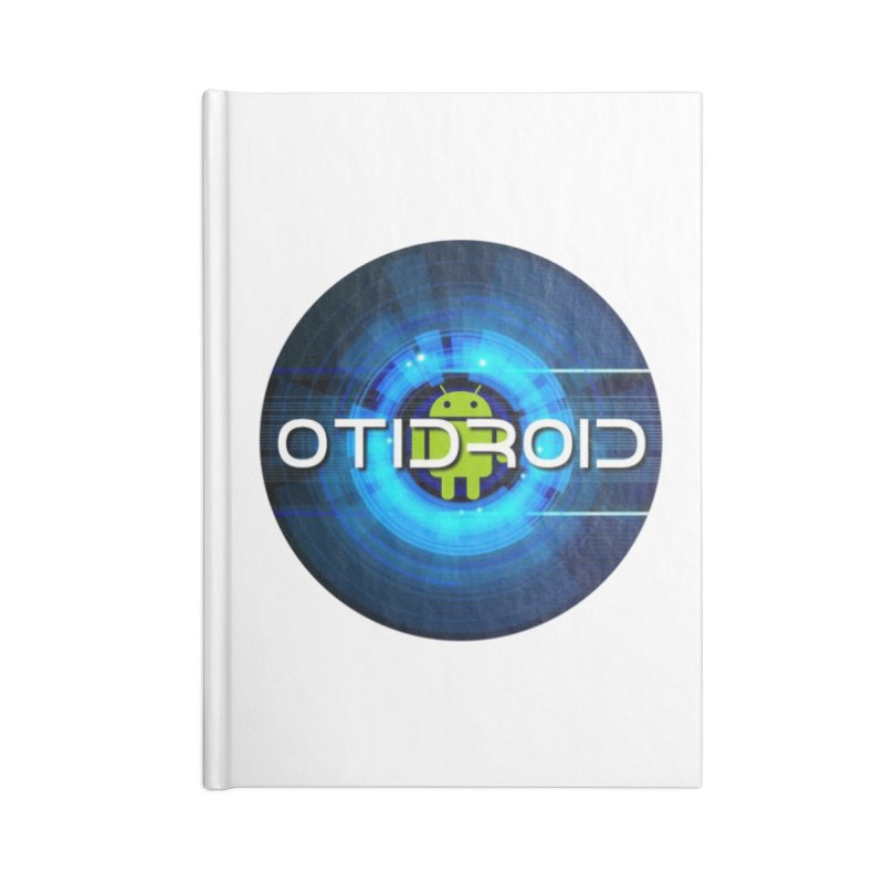 OTIdroid Accessories Lined Journal Notebook by OTInetwork