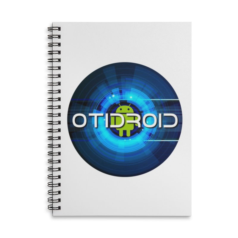 OTIdroid Accessories Lined Spiral Notebook by OTInetwork