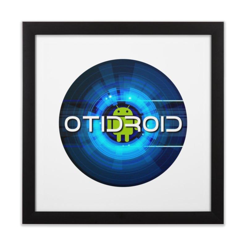 OTIdroid Home Framed Fine Art Print by OTInetwork
