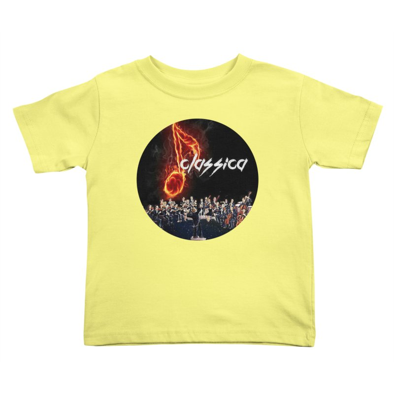 Classica Kids Toddler T-Shirt by OTInetwork