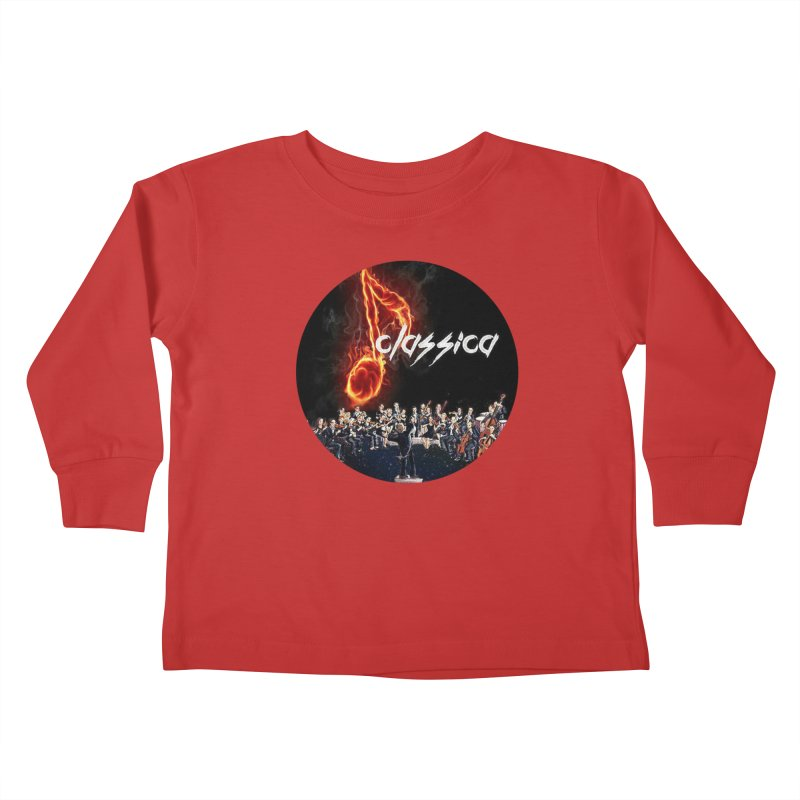 Classica Kids Toddler Longsleeve T-Shirt by OTInetwork