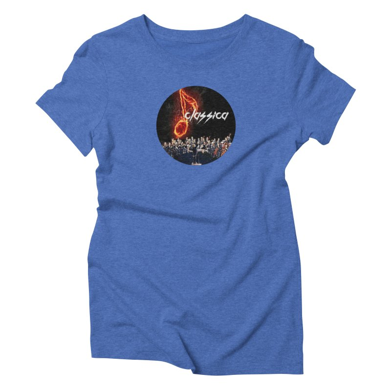 Classica Women's Triblend T-Shirt by OTInetwork
