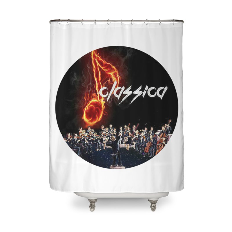 Classica Home Shower Curtain by OTInetwork