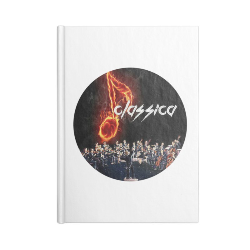 Classica Accessories Blank Journal Notebook by OTInetwork