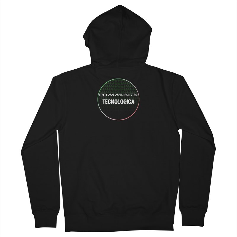 Community Tecnologica #2 Men's French Terry Zip-Up Hoody by OTInetwork