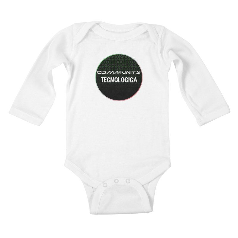 Community Tecnologica #2 Kids Baby Longsleeve Bodysuit by OTInetwork