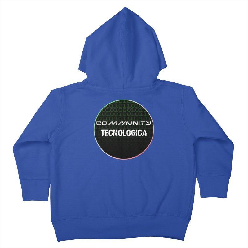 Community Tecnologica #2 Kids Toddler Zip-Up Hoody by OTInetwork