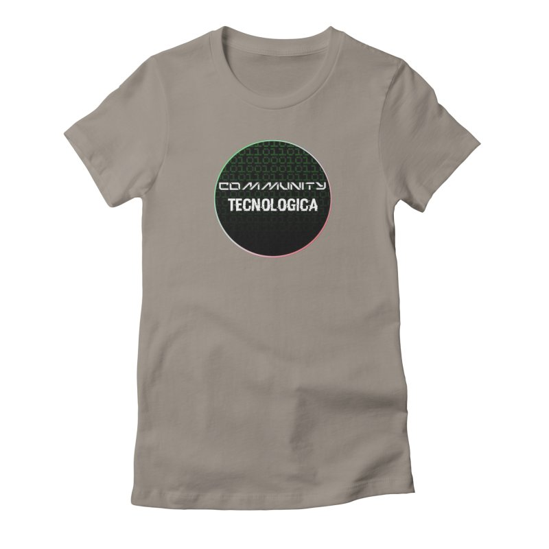 Community Tecnologica #2 Women's Fitted T-Shirt by OTInetwork