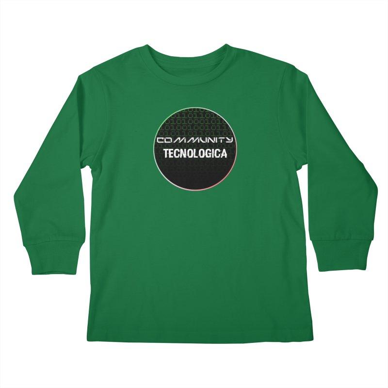 Community Tecnologica #2 Kids Longsleeve T-Shirt by OTInetwork