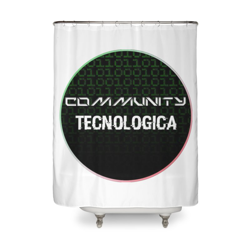 Community Tecnologica #2 Home Shower Curtain by OTInetwork