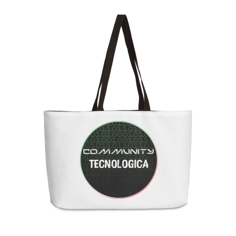 Community Tecnologica #2 Accessories Weekender Bag Bag by OTInetwork