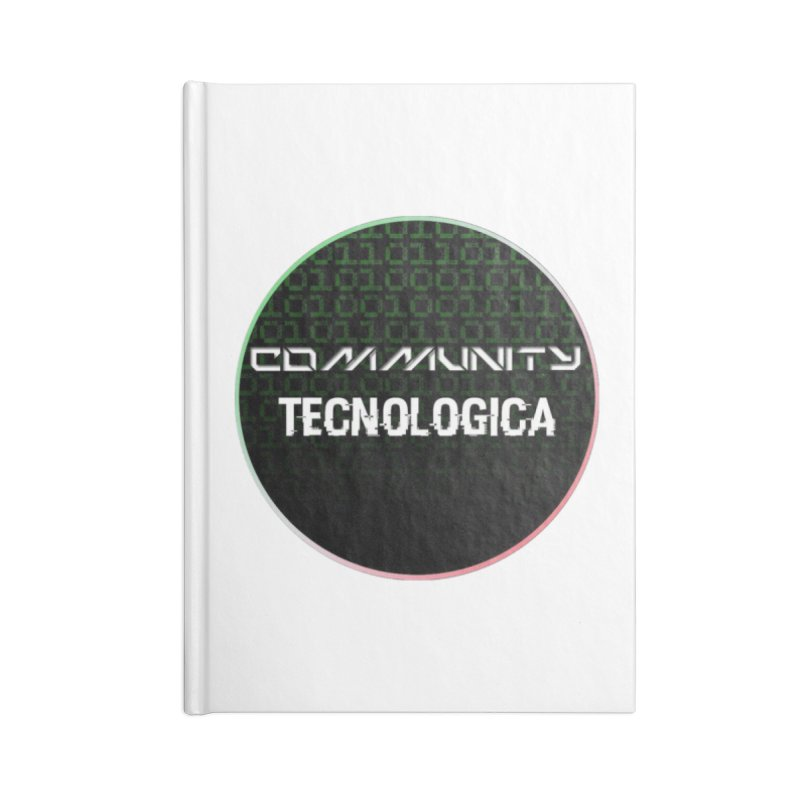 Community Tecnologica #2 Accessories Blank Journal Notebook by OTInetwork