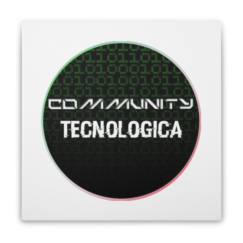 Community Tecnologica #2 Home Stretched Canvas by OTInetwork