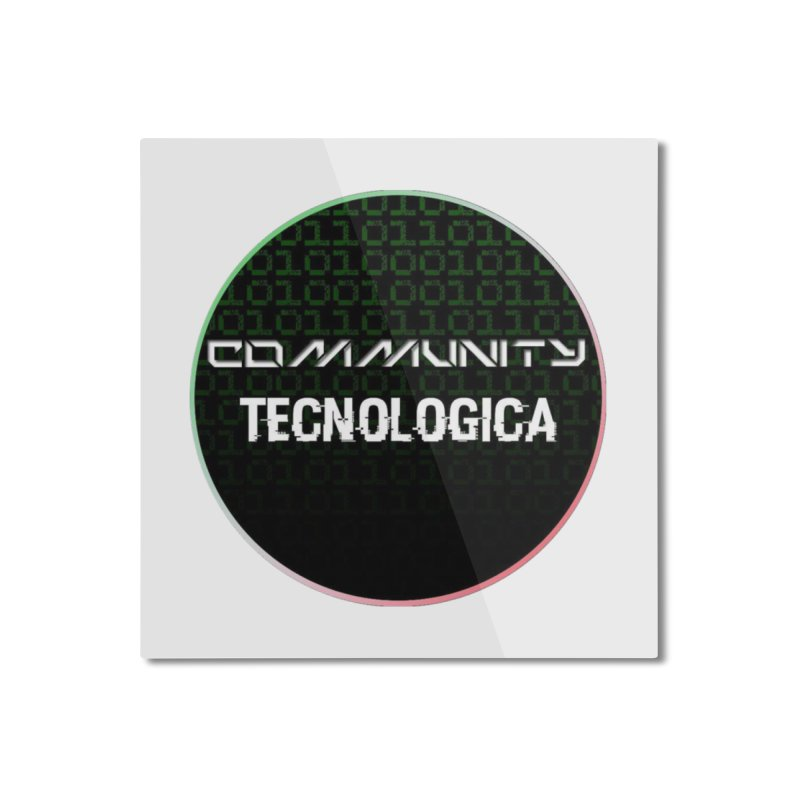 Community Tecnologica #2 Home Mounted Aluminum Print by OTInetwork