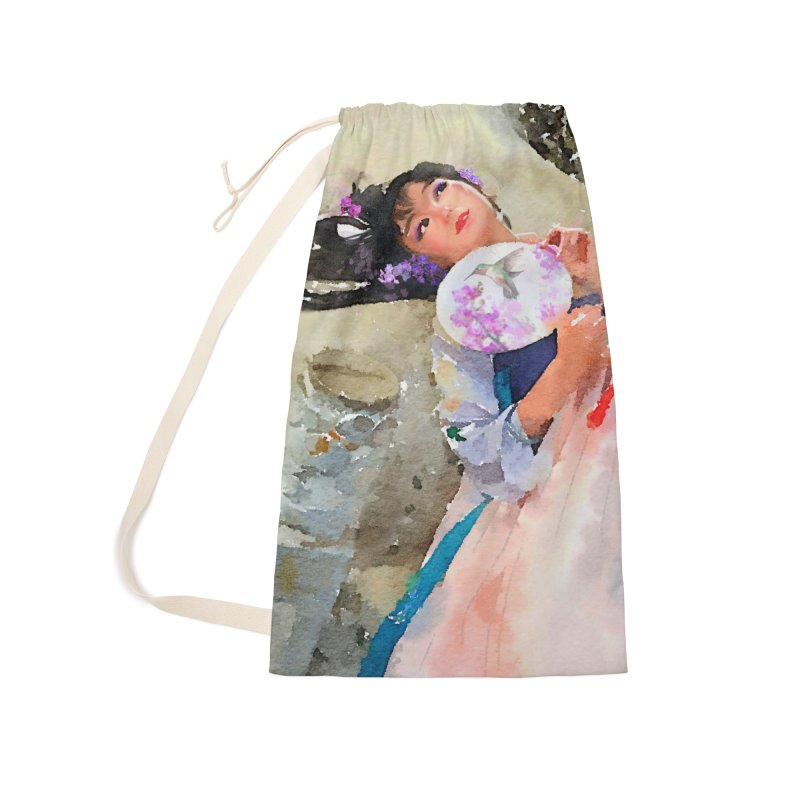 Hui Zi Dreams of being a princess one day Accessories Laundry Bag Bag by Draw Juice Custom Art Prints